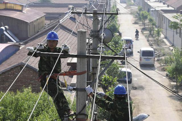 河北年内完成1000个美丽乡村电网改造