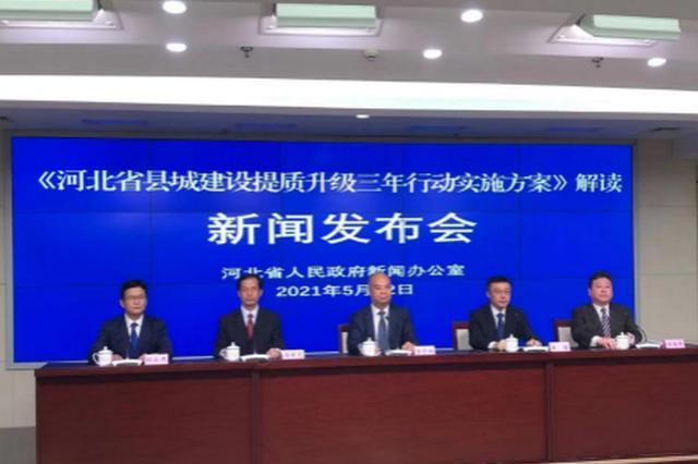 河北:三年实施七大专项行动 促县城建设提质升级