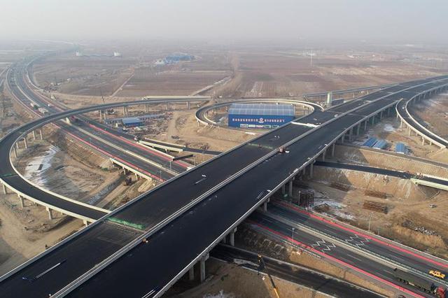 河北:廊坊特大桥转体梁转体成功