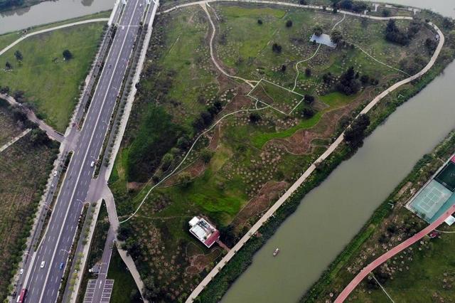 河北沧州:大运河景观带风景如画