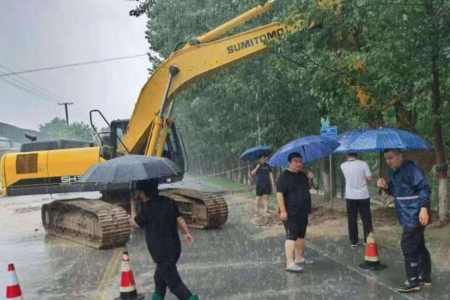 河北邱县发布暴雨红色预警 最大降雨208.5毫米