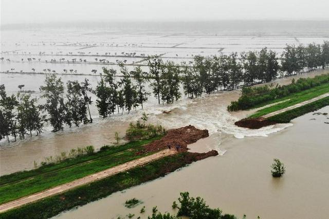 海河流域南系部分支流发生超历史洪水,河南河北启用多个蓄滞