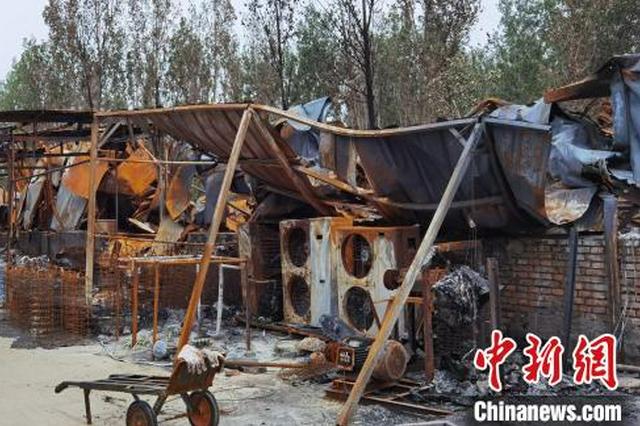 """河北白沟""""6人死亡起火事故""""系电路老化引发 4名责任人被控制"""