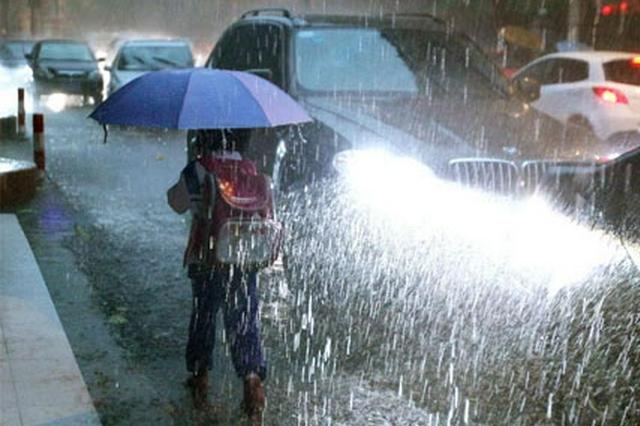 西北地区东部华北等地有较强降雨