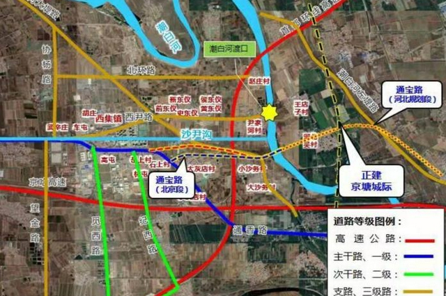 京冀建设跨越潮白河跨界道路 提升省界的互联互通水平
