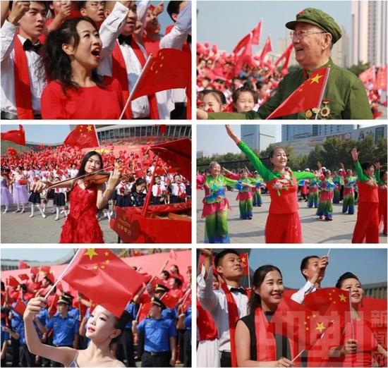 邯郸市庆祝新中国成立70周年大型群众歌舞展演