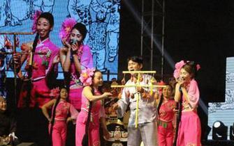 庆祝改革开放40周年昌黎民歌会举办