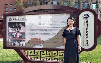 沧州:李雪义务传播西河大鼓