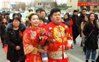 沧州90后新人步行结婚