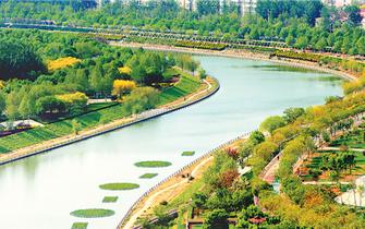 衡水市努力打造生态宜居滨湖园林城市