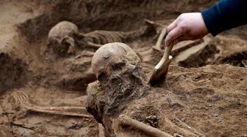 山东章丘东周遗址祭祀坑发现人牲遗存