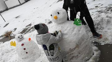 一大波河北雪人霸屏朋友圈