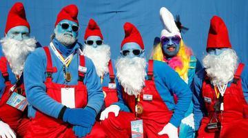 德国举行蓝精灵大会