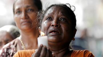 斯里兰卡举行国家哀悼活动