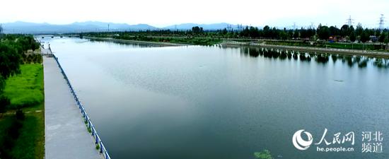 张家口市清水河。 张家口市林业和草原局供图