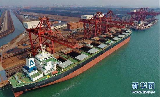 吞吐量全球第三!河北唐山港成为全国最大钢材输出港