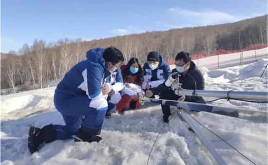 冬奥雪务专项气象风险评估系统通过验收