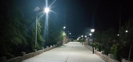 窑儿沟村夜景