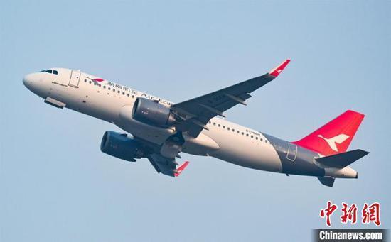 资料图:2021夏秋航季湖南航空新开9条国内航线。湖南航空供图