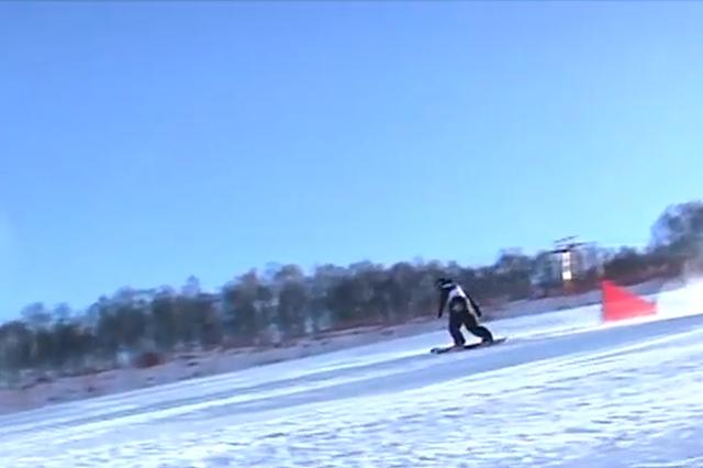 张家口市第八届市民运动会滑雪比赛在崇礼开赛