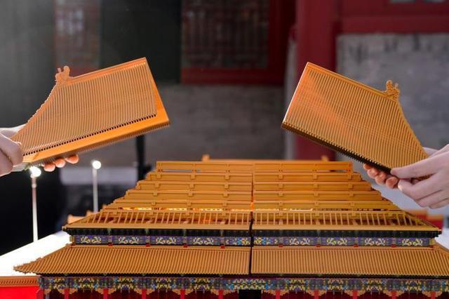 故宫博物院数字文化艺术展 3D打印宫殿模型亮相