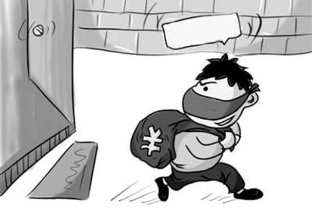 """男子多次翻墙偷盗 民警""""守株待兔""""逮个正着"""