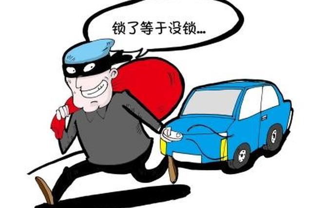 男子用干扰器盗窃车辆财物被判刑 被罚2万元