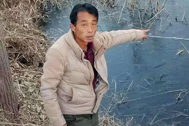 河北两男童落水 村民跳入冰水救出一人腿被冻伤