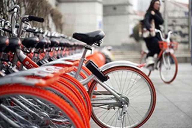 石家庄主城区将削减共享单车量 不允许再新增投放