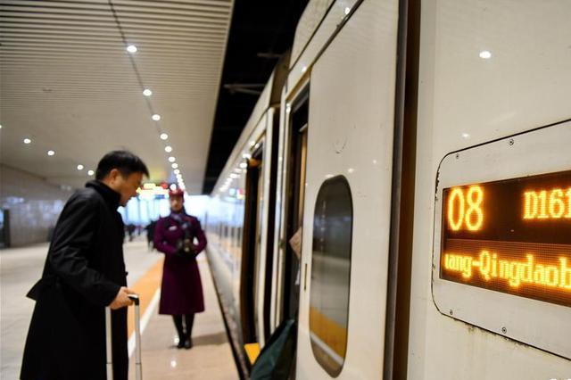 石家庄至济南高速铁路正式开通运营