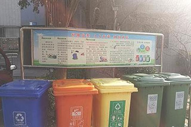 石家庄生活垃圾强制分类 你家小区试行了吗