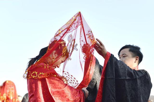 邢台汉式集体婚礼迎新春