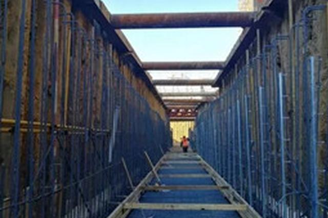 雄安市民服务中心加速实施 地下综合管廊主体完工