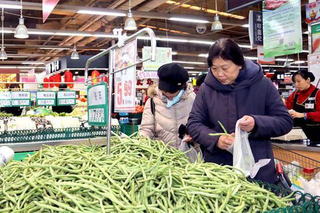 河北495.4亿元节供商品保春节市场货足价稳
