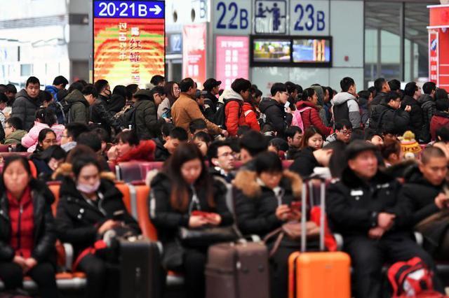 铁路迎返程客流高峰 21日预计发送旅客1180万人次