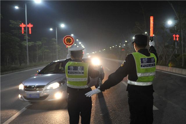 河北省春节期间查处10721起交通违法行为