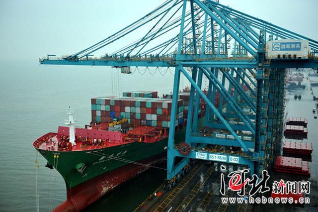 新纪录!沧州黄骅港集装箱首月吞吐量近7.4万标箱