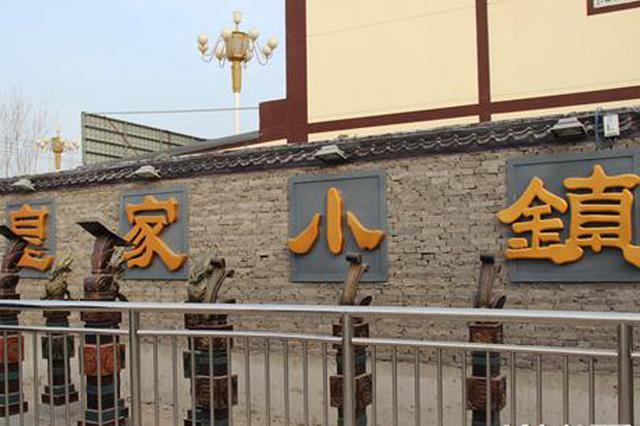 冀州区岳良村皇家小镇。资料图