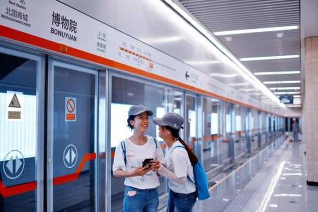 春节期间石家庄地铁发送旅客74.4万人次
