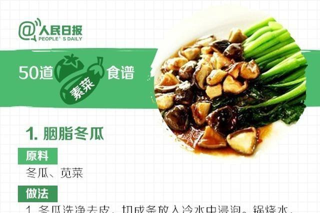 """节后""""刮油""""必备!50道素菜食谱解腻又甩肉"""