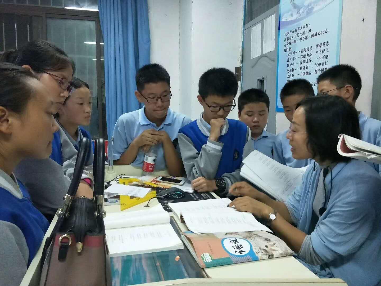 """学生积极备考,为""""宇华小锦鲤""""冲刺!"""