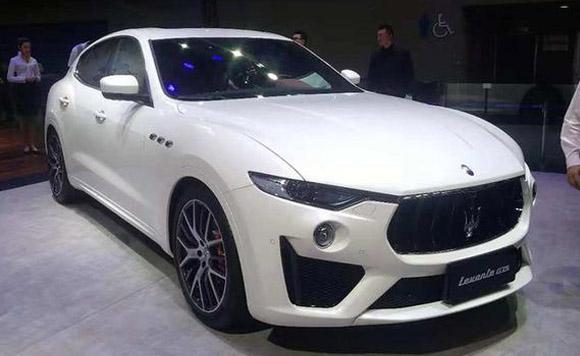 玛莎拉蒂Levante GTS正式开卖 售159.8万