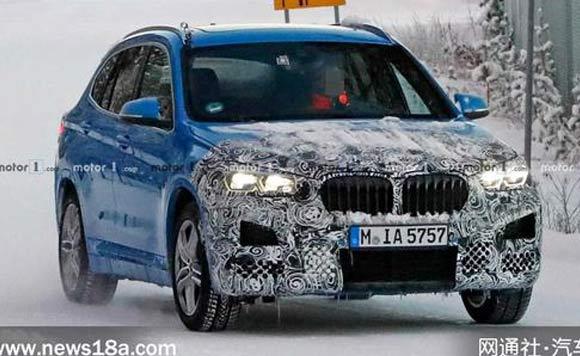 新款宝马X1外观升级 明年日内瓦车展亮相