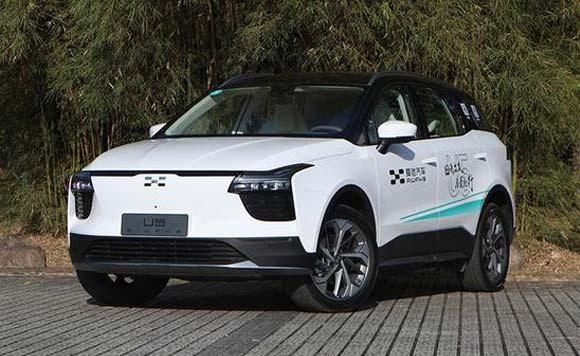 爱驰U6 ion全新纯电概念车 将于3月首发