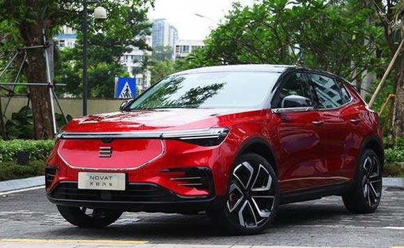 天际全新纯电动SUV曝光 比ME7更小