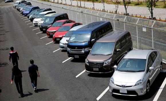日本八大车企4月全球销量下跌54.4%