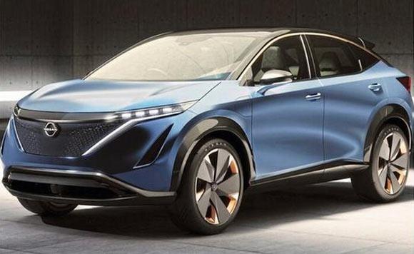 日产Ariya纯电SUV预告图 第三季度开售