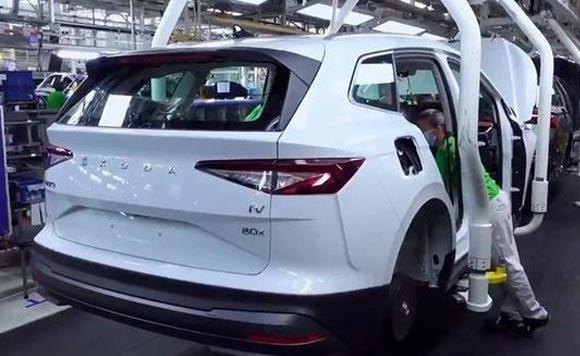 斯柯达全新纯电SUV投产 多款动力搭配