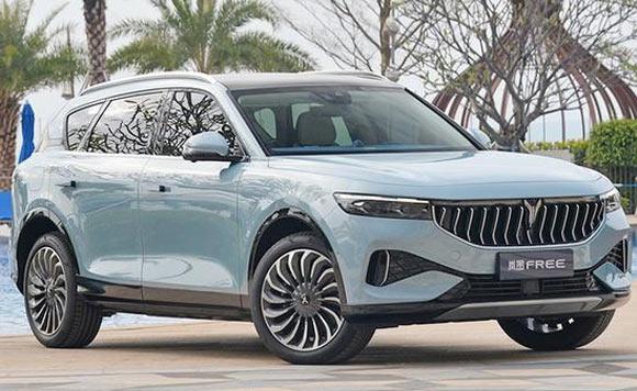 东风岚图发布全新大SUV 6月量产下线