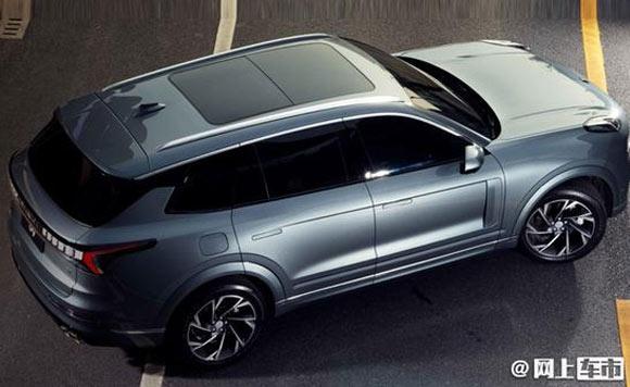 领克全新大7座SUV曝光 最快9月上市
